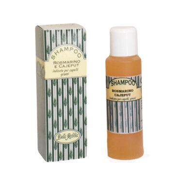Shampoo grassi Rosmarino e Cajeput